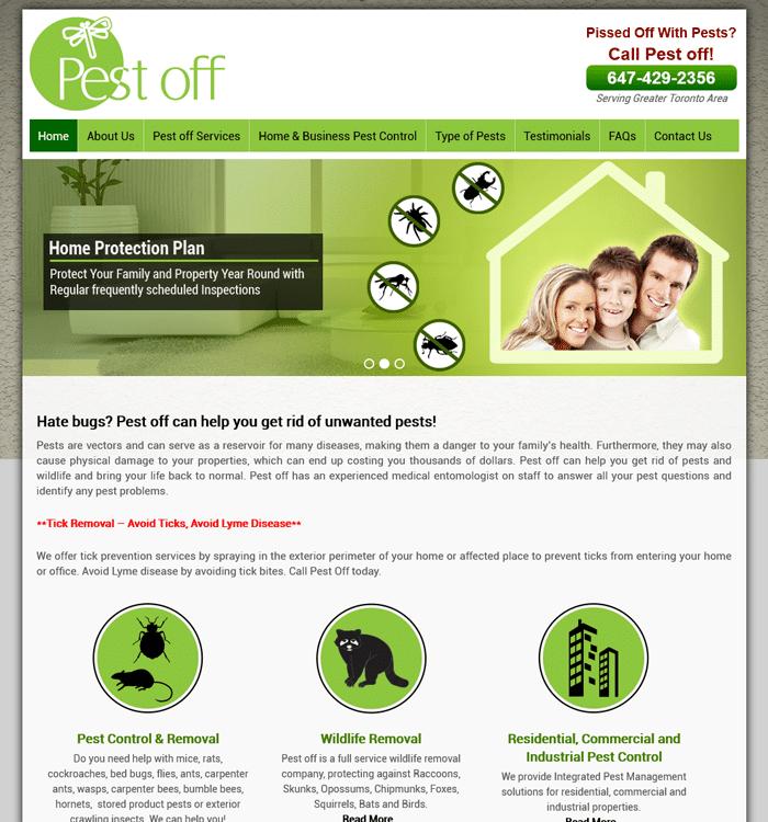 Pat S Marketing Toronto On Website Design Portfolio