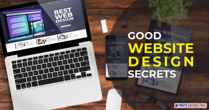 secrets of a good website design