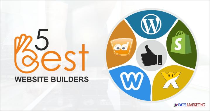 5 best website builders